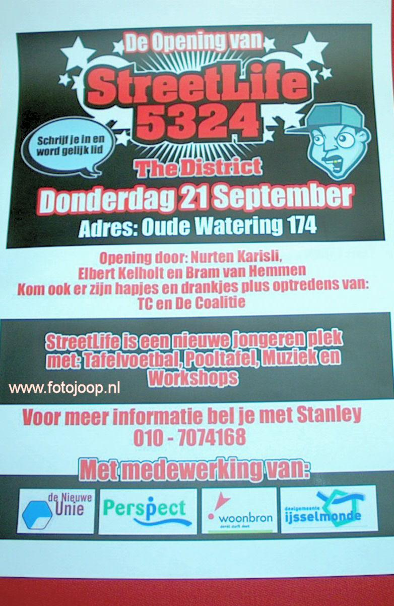 21-09-2006 flyer opening streetlife 5324 the district